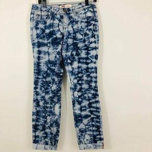 l.e.i. Ashley Low-rise Cropped Jeans Junior Size 7